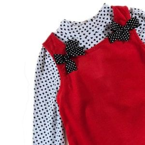 Ladybugs, Hearts, and Polka-dots Jumper